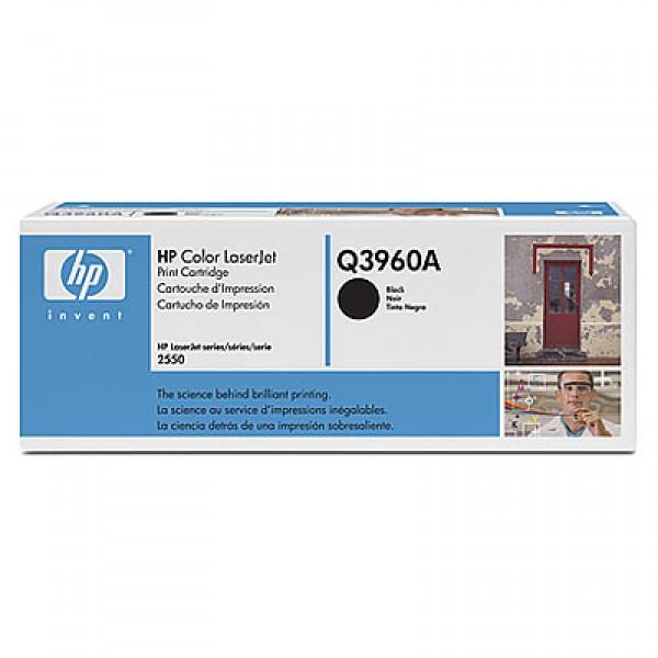 Зареждане на тонер касета HP  Q3960A - 122A Black