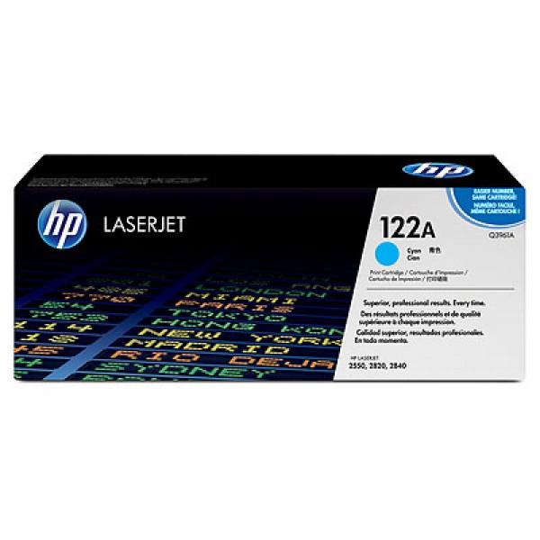 Зареждане на тонер касета HP Q3961A - 122A Cyan