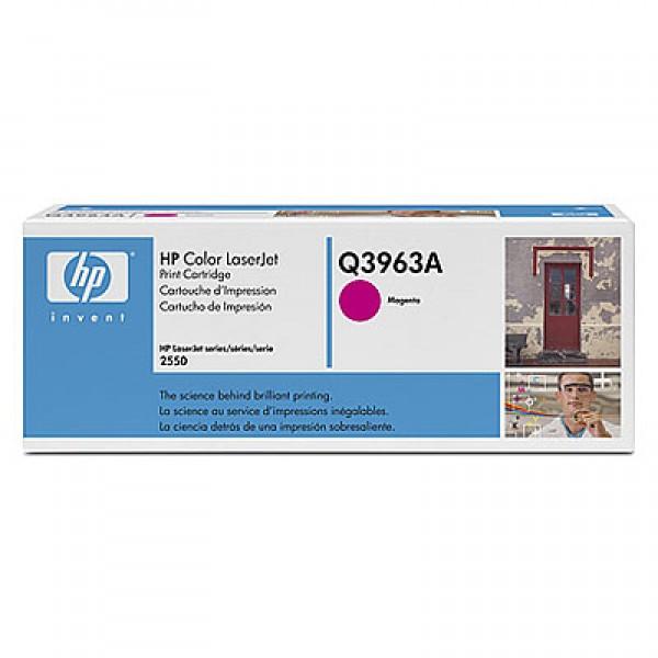 Зареждане на тонер касета HP  Q3963A - 122A Magenta