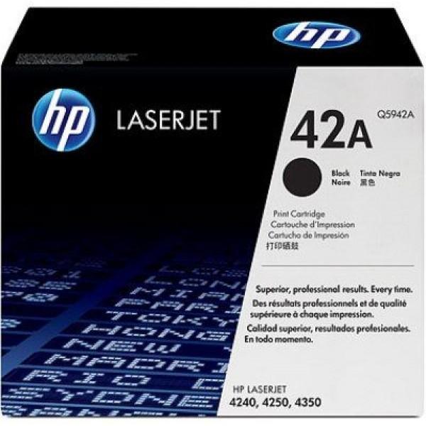 Зареждане на тонер касета HP Q5942A