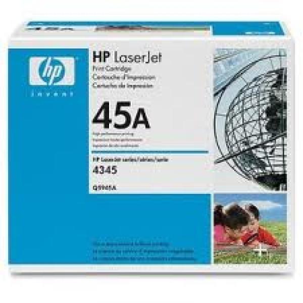 Зареждане на тонер касета HP Q5945A