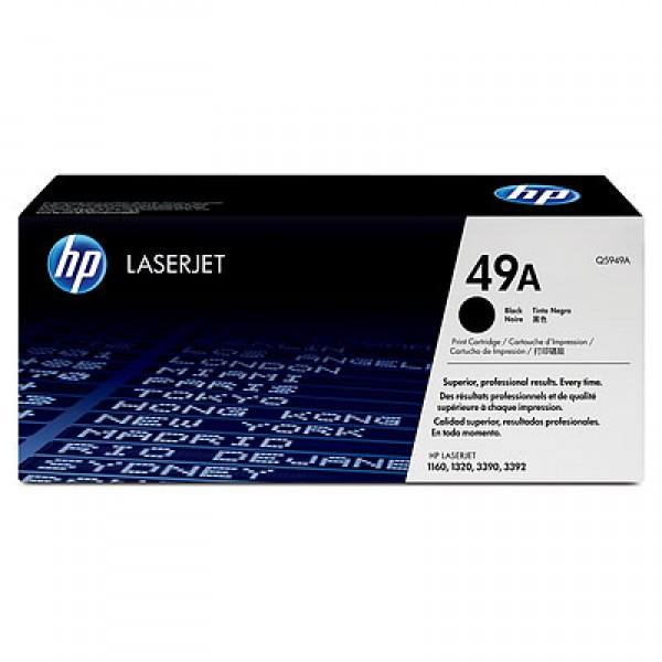 Зареждане на тонер касета HP Q5949A
