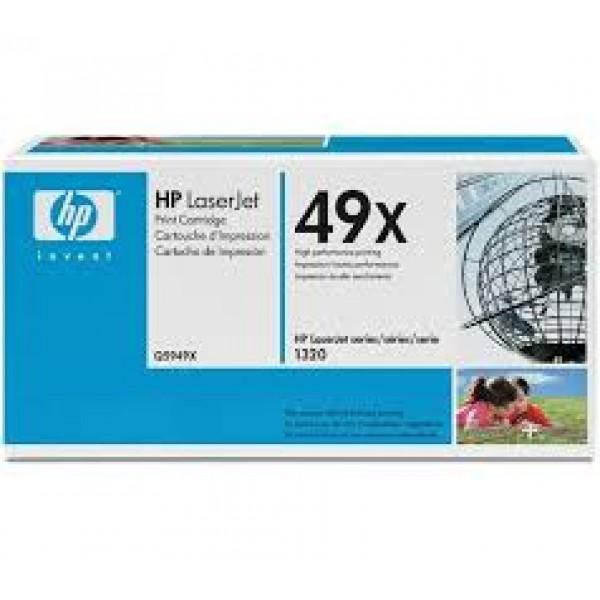 Зареждане на тонер касета HP Q5949X