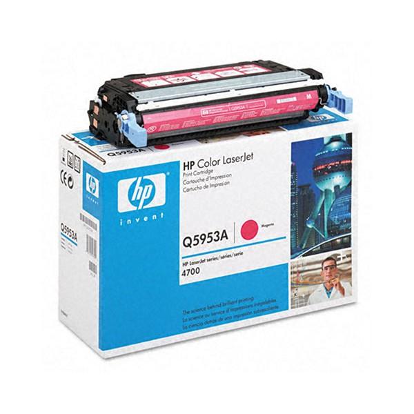 Зареждане на тонер касета HP Q5953A - 643A Magenta