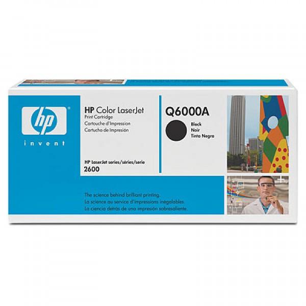 Зареждане на тонер касета HP  Q6000A -  124A Black