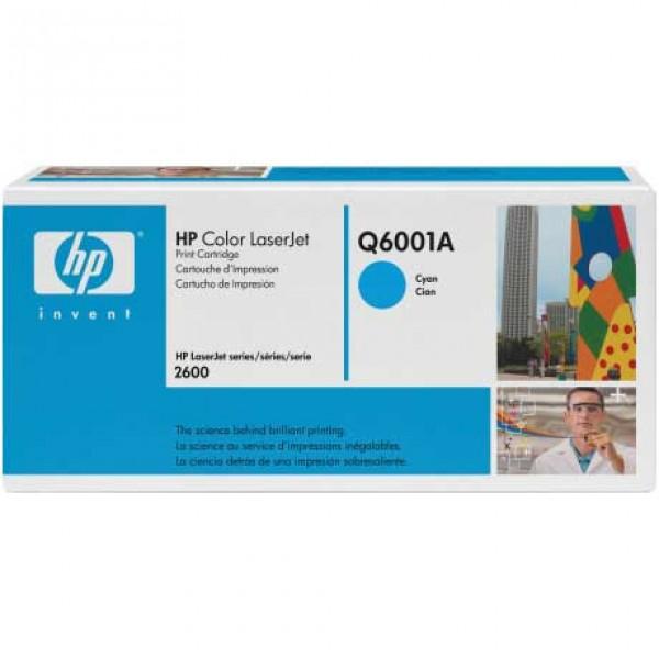 Зареждане на тонер касета HP Q6001A -  HP 124A Cyan