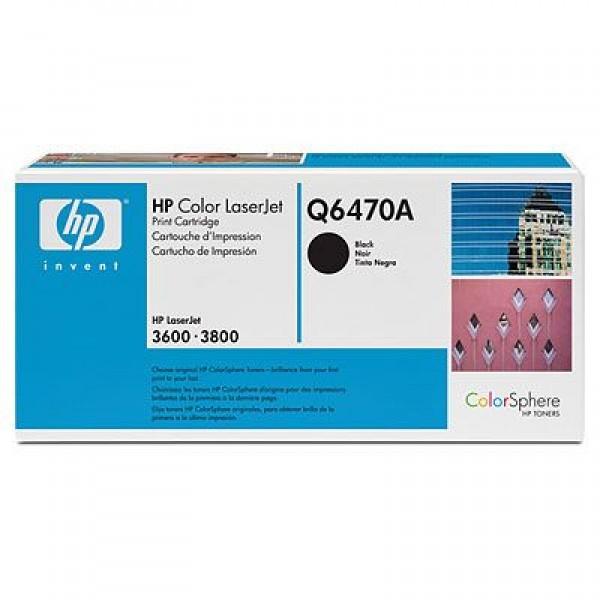 Зареждане на тонер касета HP Q6470A -  501A Black