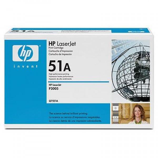 Зареждане на тонер касета HP Q7551