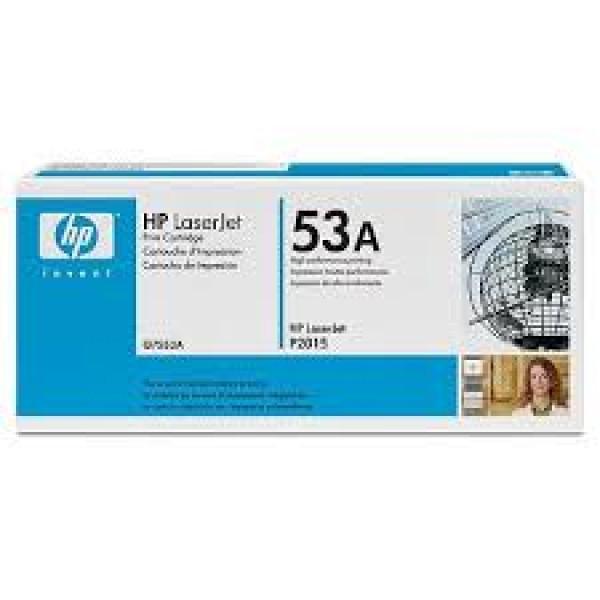 Зареждане на тонер касета HP Q7553A