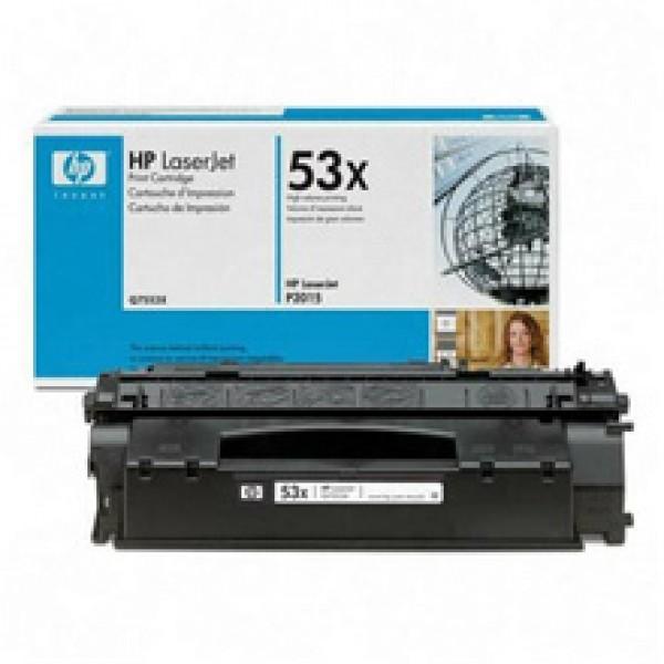 Зареждане на тонер касета HP Q7553X