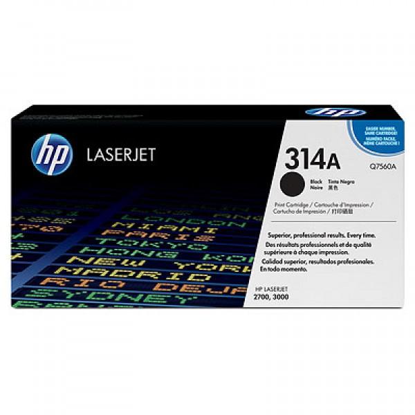 Зареждане на тонер касета HP Q7560A
