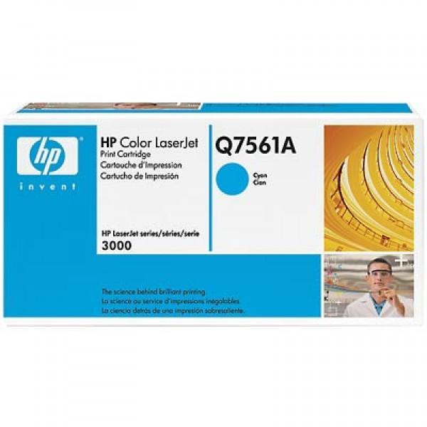 Зареждане на тонер касета HP Q7561A