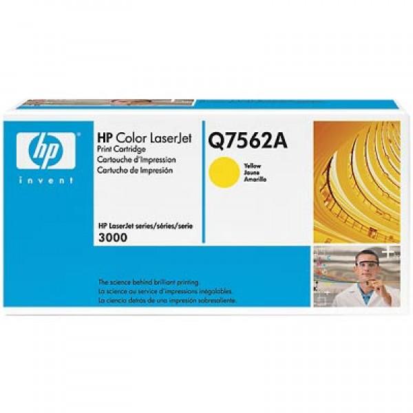 Зареждане на тонер касета HP Q7562A