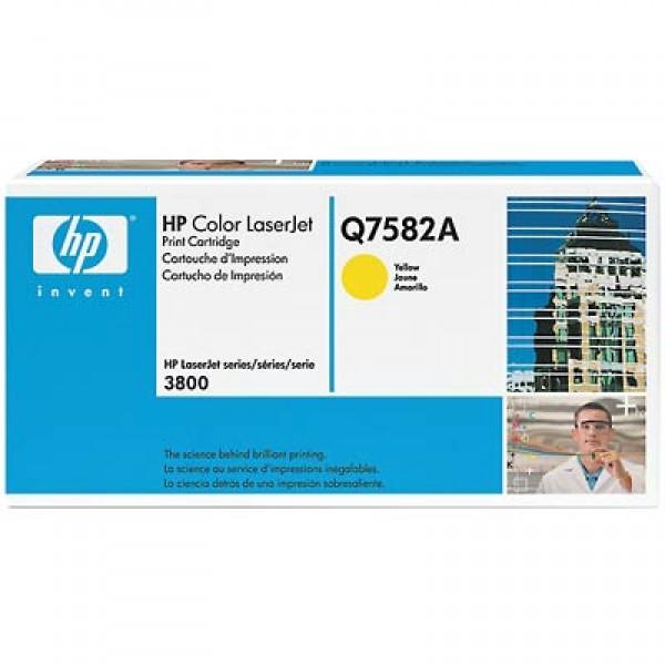 Зареждане на тонер касета HP Q7582A- HP 503A Yellow
