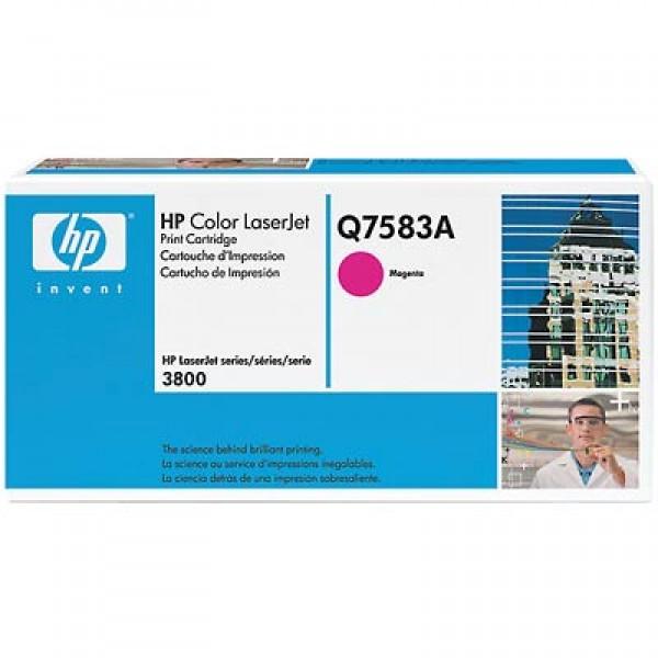 Зареждане на тонер касета HP  Q7583A -  503A Magenta