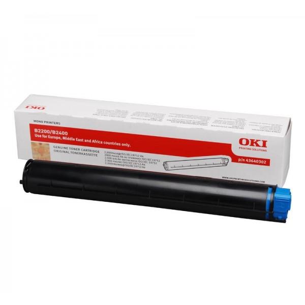 Зареждане на тонер касета OKI 43640302