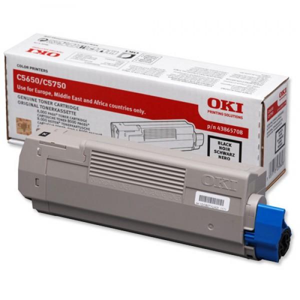 Зареждане на тонер касета OKI  43865708