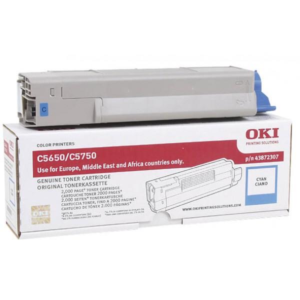 Зареждане на тонер касета OKI 43872307