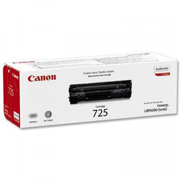 Зареждане на тонер касета  Canon CRG 725