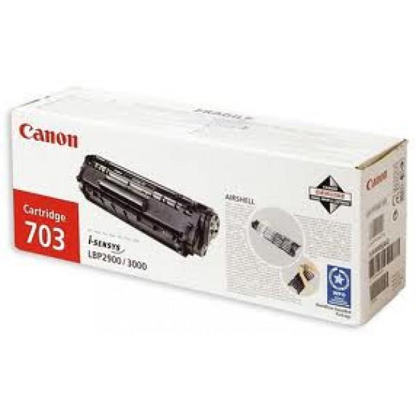 Зареждане на тонер касета Canon CRG-703