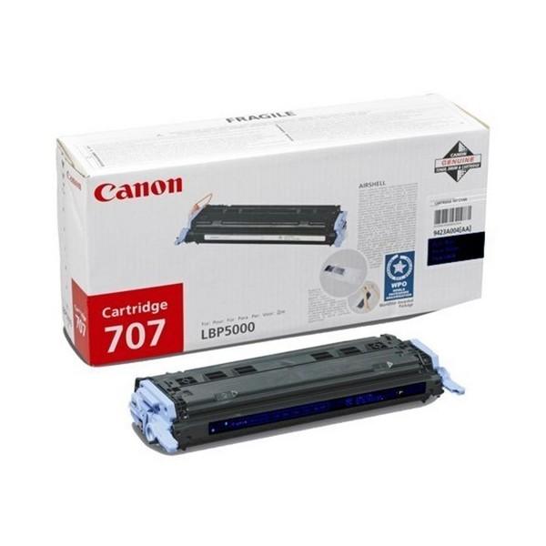 Зареждане на тонер касета Canon CRG-707B