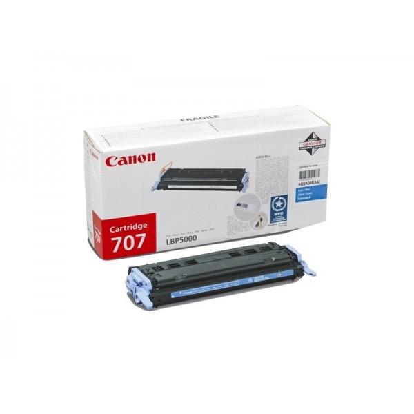 Зареждане на тонер касета Canon CRG-707C