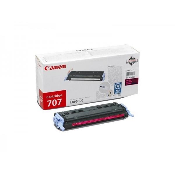 Зареждане на тонер касета Canon CRG-707M