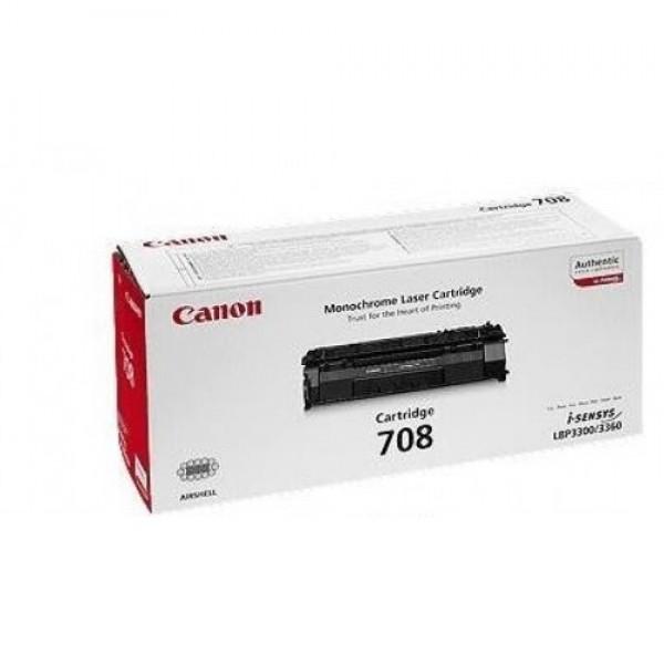 Зареждане на тонер касета Canon CRG-708