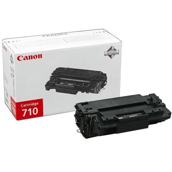 Зареждане на тонер касета Canon CRG-710