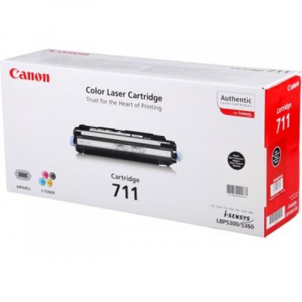 Зареждане на тонер касета  Canon CRG-711B