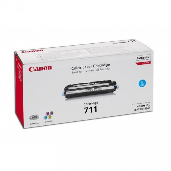Зареждане на тонер касета Canon CRG-711C
