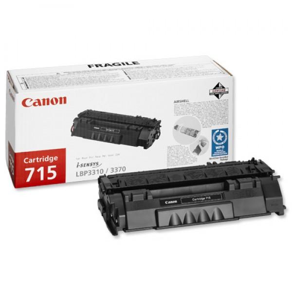 Зареждане на тонер касета  Canon CRG-715