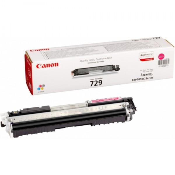 Зареждане на тонер касета  Canon CRG 729 Magenta