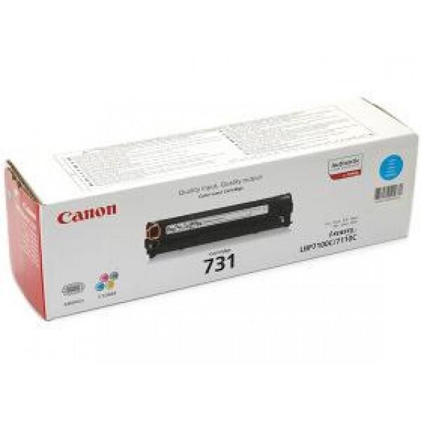 Зареждане на тонер касета  Canon CRG-731 Cyan