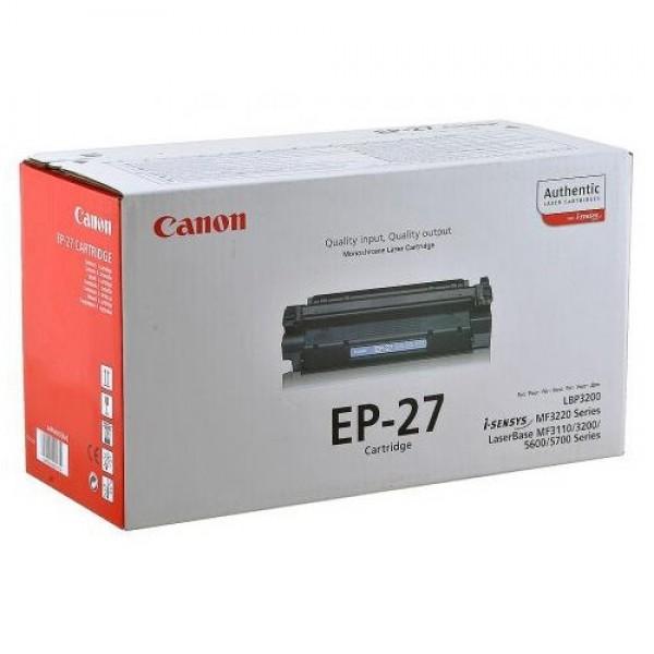 Зареждане на тонер касета  Canon EP-27