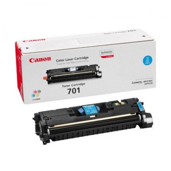 Зареждане на тонер касета Canon EP-701C cyan