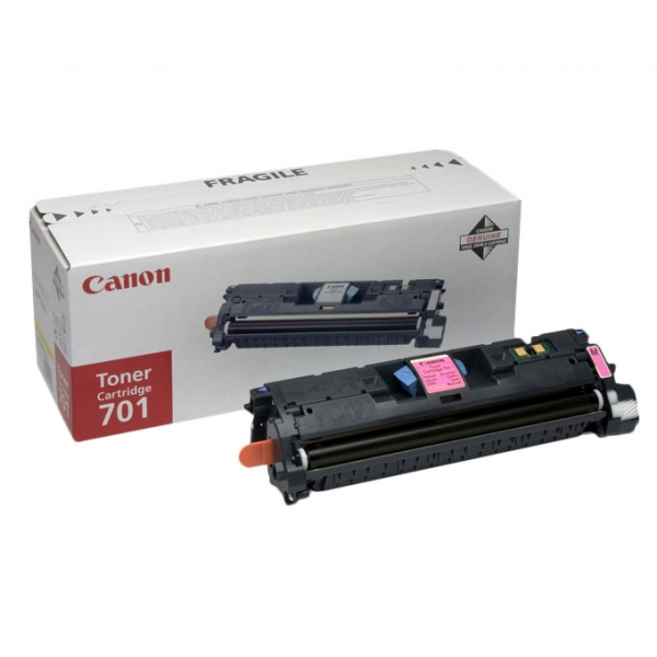 Зареждане на тонер касета  Canon EP-701M magenta
