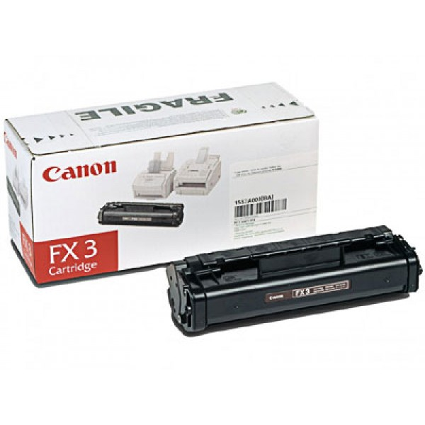 Зареждане на тонер касета Canon FX-3