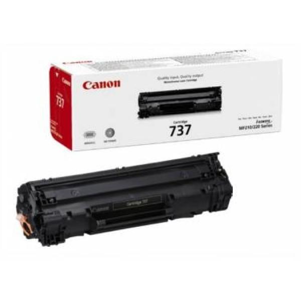 Зареждане на тонер касета  Canon LBP Cartridge 737