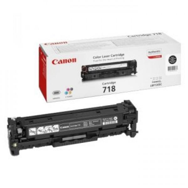 Зареждане на тонер касета Canon LBP CRG 718 BK
