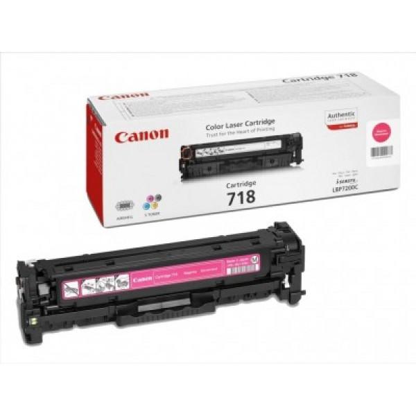 Зареждане на тонер касета Canon LBP CRG 718 M