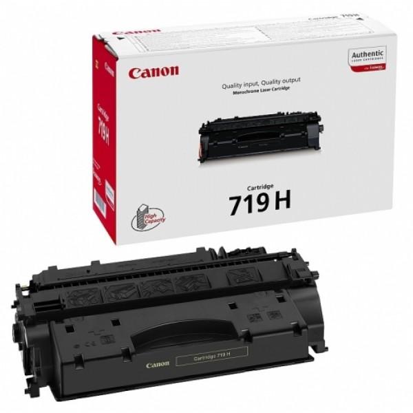 Зареждане на тонер касета Canon LBP CRG 719 H