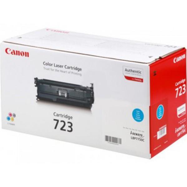 Зареждане на тонер касета Canon LBP CRG723 C