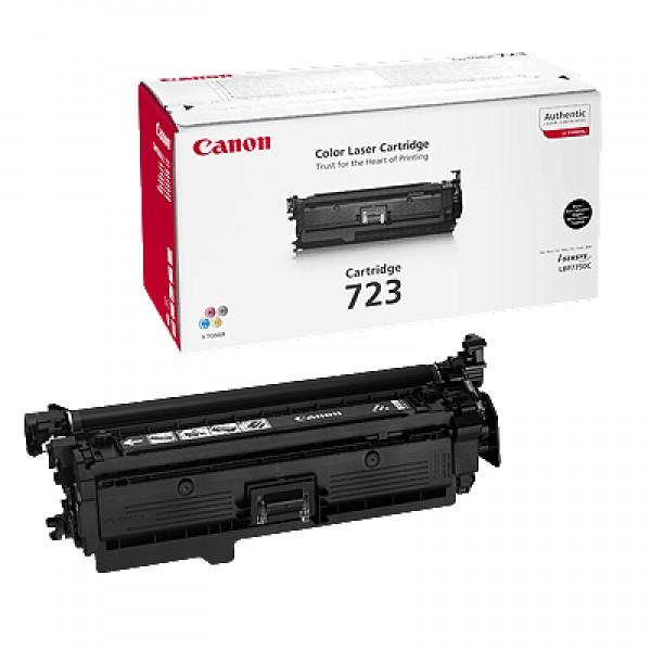 Зареждане на тонер касета Canon LBP CRG723 H BK