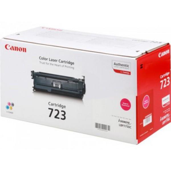 Зареждане на тонер касета  Canon LBP CRG723 M