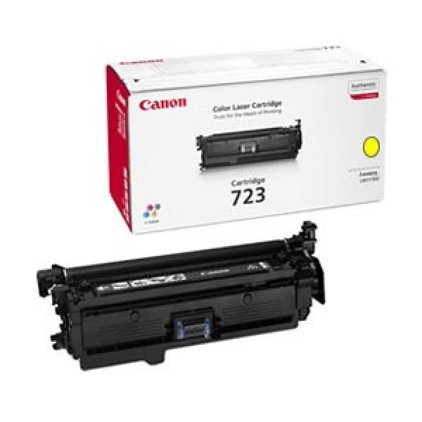 Зареждане на тонер касета Canon LBP CRG723 Y