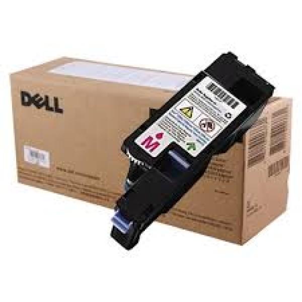 Зареждане на тонер касета Dell 1250c & 1350cnw & 1355cn/cnw High Capacity Magenta  - 593-11018