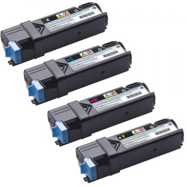 Зареждане на тонер касета Dell 2150cn/cdn & 2155cn/cdn High Capacity Magenta  - 593-11033