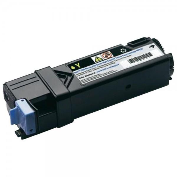Зареждане на тонер касета Dell 2150cn/cdn & 2155cn/cdn High Capacity Yellow  -  593-11037