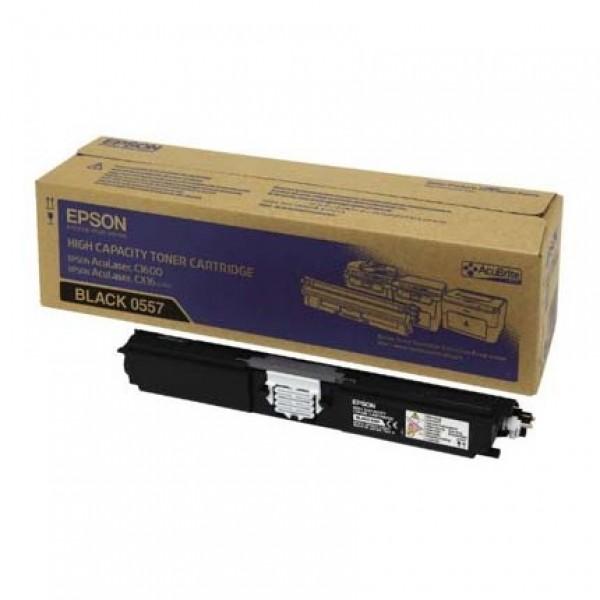 Зареждане на тонер касета Epson Aculaser C1600/ CX16 Black - C13S050557